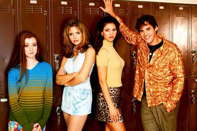 <i>Buffy</i> was shot at Los Angeles' Torrance High School, the same school which stood in for West Beverly High in Beverly Hills, 90210.
