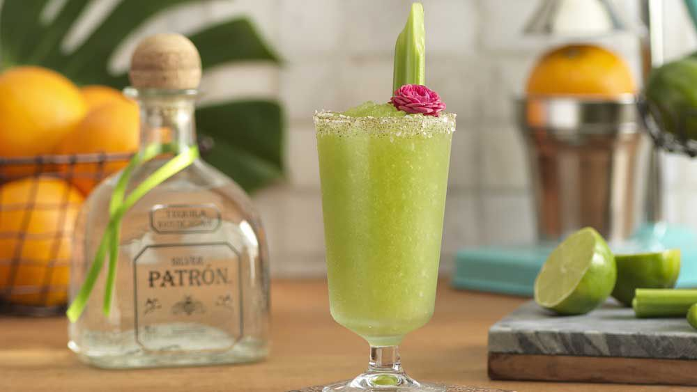 Verde green cocktail