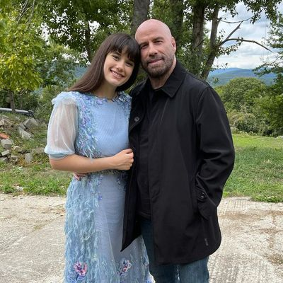 John Travolta and daughter Ella Travolta
