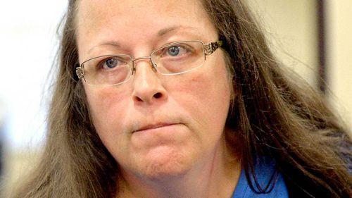 US clerk who refused gay marriage licenses freed