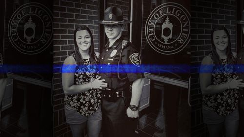Ligonier police officer Ethan Kiser and wife Sharon were killed in a car crash on an icy road in Indiana.