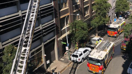 Fire crews fight blaze at Sydney restaurant