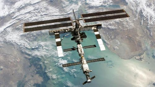 A minute leak on board the ISS causing a loss of pressure was fixed with tape with no risk to the crew, but the fallout has affected US-Russian relations.