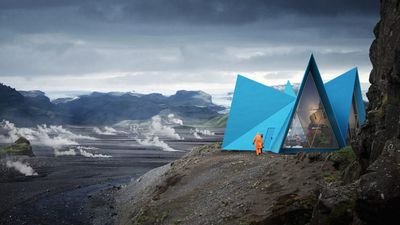 Mountainside cabins are getting a facelift in Iceland