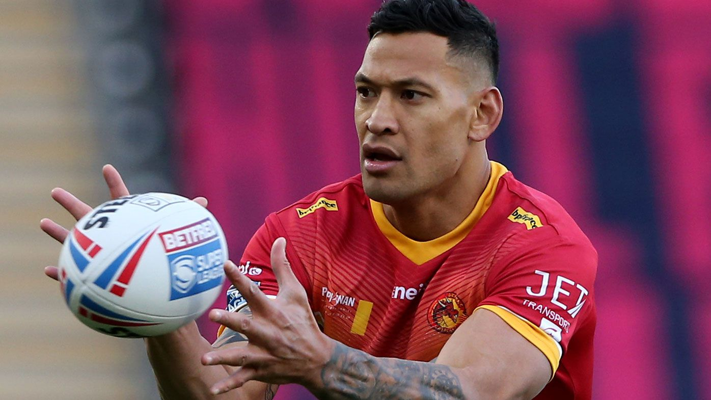 Wests Tigers coach Michael Maguire sounded out Israel Folau about NRL return: reports