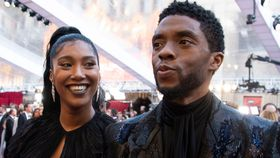 Chadwick Boseman's widow's tearful tribute to the actor
