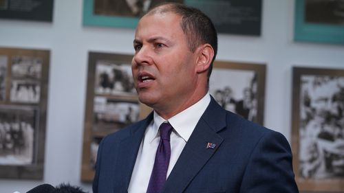 International Monetary Fund warning world economy Josh Frydenberg