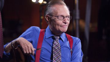 """Larry King hosted """"Larry King Live"""" on CNN for over 25 years."""