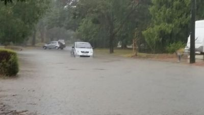 Flooding forces closure of several Canberra roads