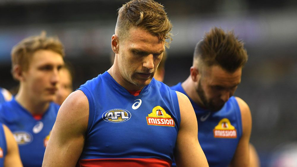 Western Bulldogs' Jake Stringer certain to depart AFL club with Essendon and Geelong circling