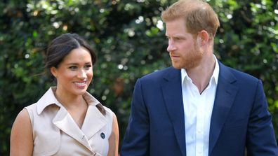 Meghan Markle and Prince Harry during South Africa Royal Tour 2019
