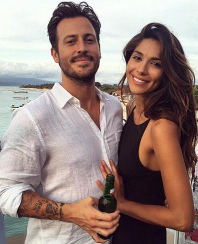Pia Miller and Tyson Mullane