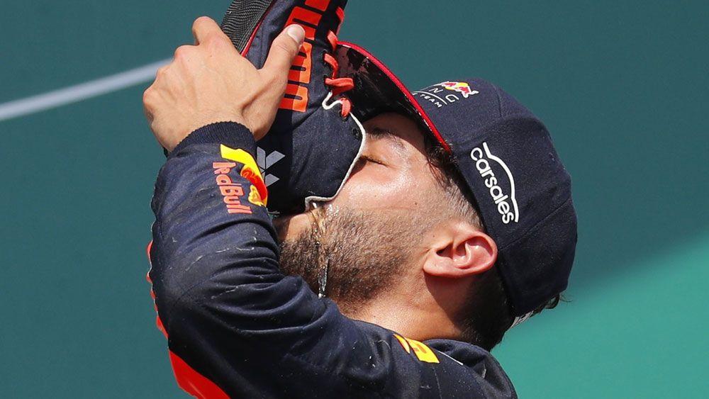 Formula One: Daniel Ricciardo vows to bring back the 'shoey'