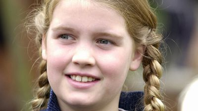 Lady Kitty Spencer in 2000, age 10