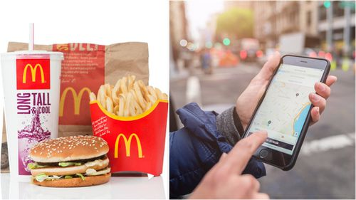 UberEats to deliver McDonald's to Melbourne homes