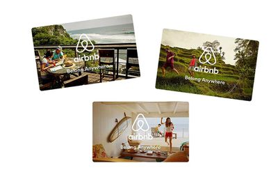 <strong>Airbnb Gift Card, from $25</strong>