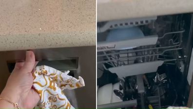 A mum has shared her dishwasher hack for making sure things are dry