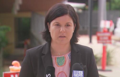 Health Minister Natasha Fyles
