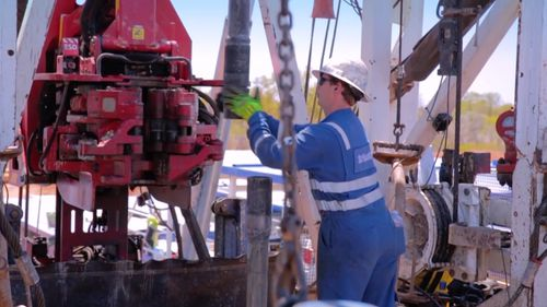 Gas exploration projects could resume as early as next dry season. (9NEWS)