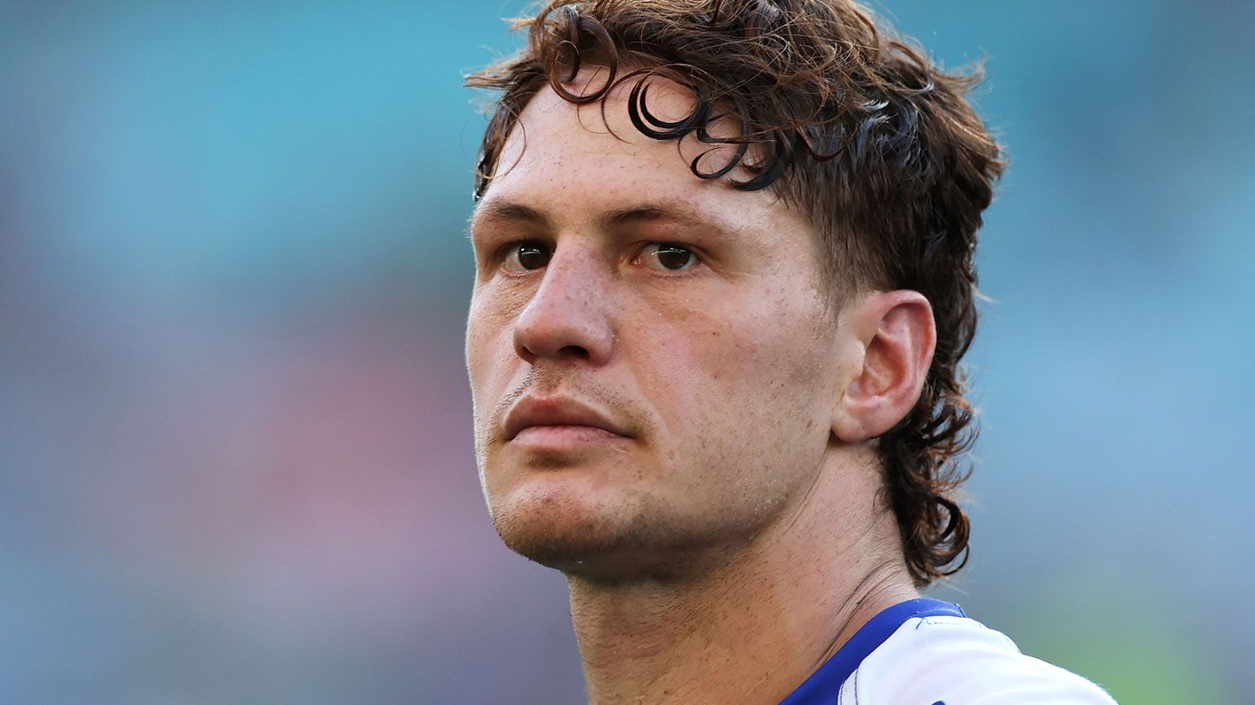 Kalyn Ponga was emotional following the Knights' finals exit. (Getty)