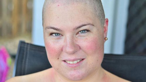 Kate McKenzie was diagnosed with stage three cancer three years ago, which has a one percent survival rate.