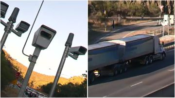New state-of-the-art speed cameras will target buses and trucks on Adelaide freeways.