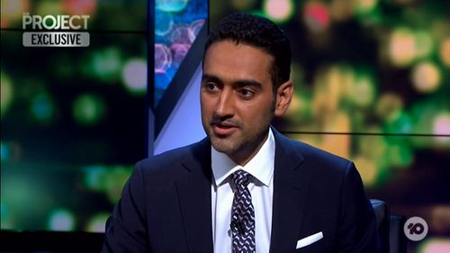 Waleed Aly on Friday gave an impassioned and emotional monologue following the Christchurch terror attack that killed 50 people.