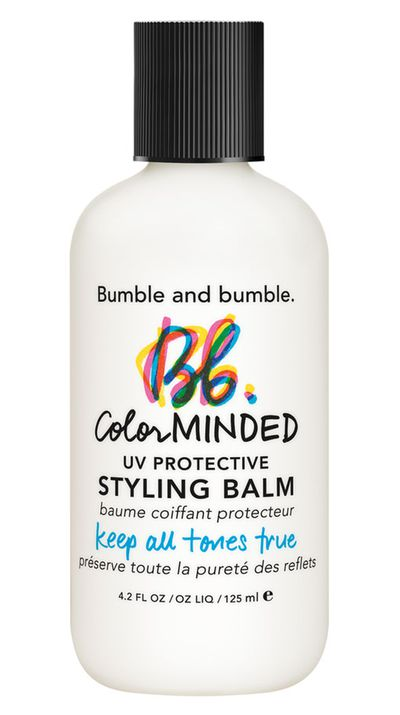"<a href=""http://mecca.com.au/bumble-and-bumble/colour-minded-uv-protective-styling-balm/I-014313.html"" target=""_blank"">Colour Minded UV Protective Styling Balm, $40, Bumble and Bumble</a>"