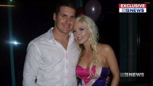 She told Nine's Danny Weidler she would hide from Seymour when she knew he had been drinking.