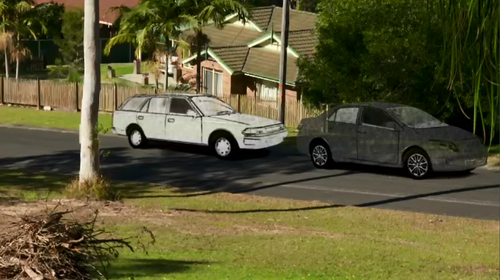 Police are interested in two cars that were believed to be parked near William's grandmother's home.