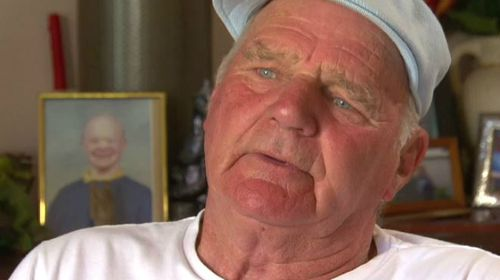"Merv Hogan says the truck he bought has ""destroyed"" his family's lives. (A Current Affair)"
