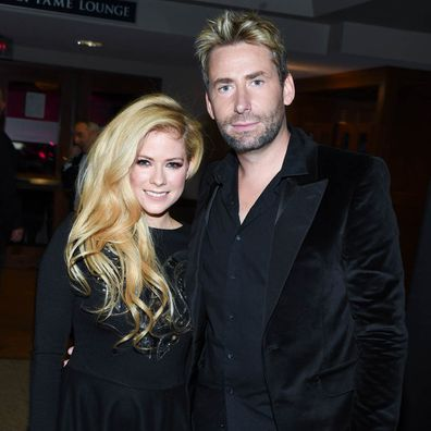 Avril Lavigne and Chad Kroeger