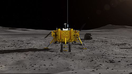 China has made an historic first-ever landing of a space probe on the far side of the moon.