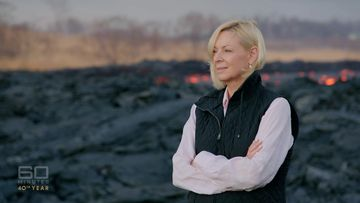 Liz Hayes hadn't been to Mt Kilauea in 20 years.