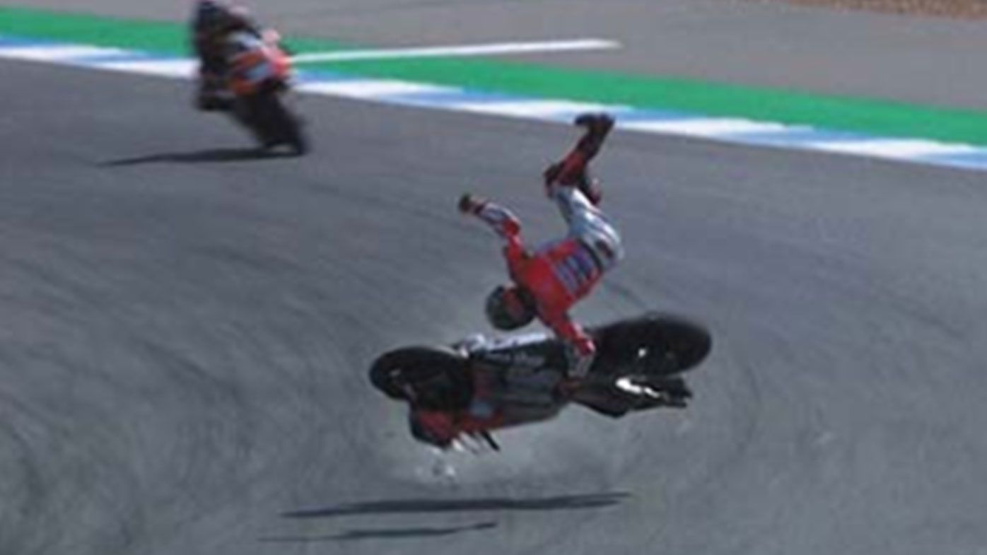 Horror crash forces Jorge Lorenzo to pull out of inaugural Thailand Grand Prix