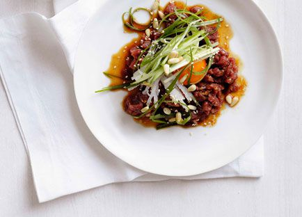 Korean beef tartare