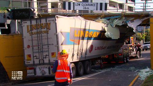 Queensland truck overpass
