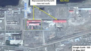 North Korea is known to use this graphite in creation of nuclear reactors and has also reportedly attempted to sell the material to overseas buyers. (Google Earth)