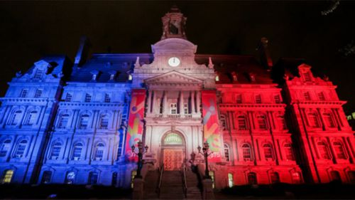 City hall in Montreal. (BNO News, Twitter)