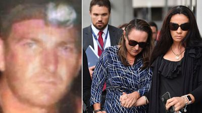 Former bikie laughs in the dock as he admits to brutal murder
