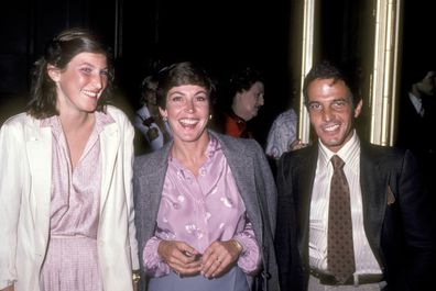 Traci Donat, Helen Reddy and husband Manager Jeff Wald attend the Presidential Fundraiser Dinner for Governor Jerry Brown on February 29, 1980 at Beverly Wilshire Hotel in Beverly Hills, California.