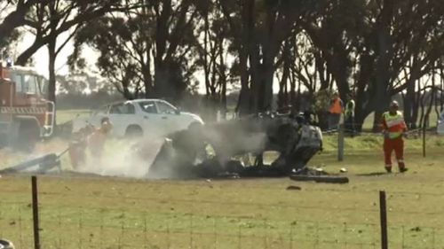 Two dead, three injured in horror car crashes in Victoria's north-west