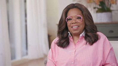 Oprah Winfrey as seen on The Oprah Conversation now streaming on Apple TV+.