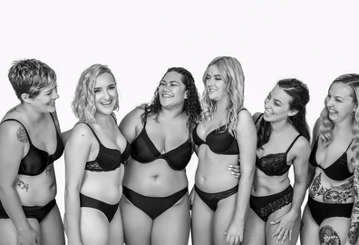 The organisations's 'body positivity'  campaign.