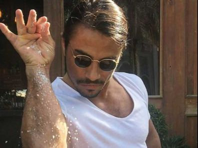 Turkish chef Salt Bae