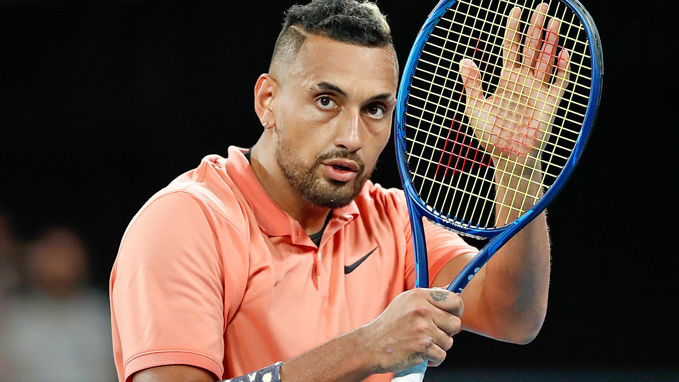 Nick Kyrgios' 2020 season has been thrown into doubt by the coronavirus pandemic