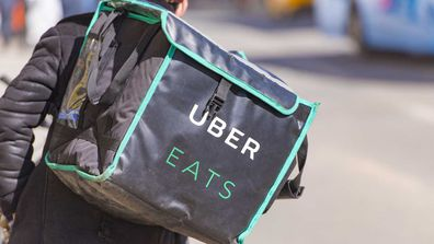 UberEats delivery cyclist