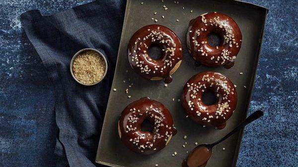 Coffee donuts