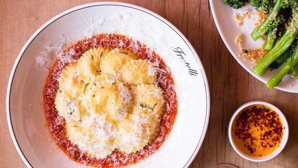 Fratelli Fresh summer ravioli