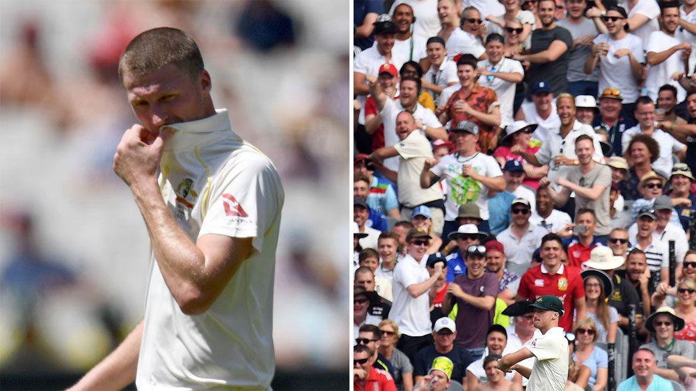 Australian bowler Jackson Bird targeted by Barmy Army as coach Darren Lehmann bemoans MCG pitch